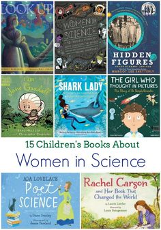 15 Children's Books About Women in Science -- these picture books and early chapter books are a great introduction to some awesome female scientists. Picture books to teach science Feminist Books, Science Books, Preschool Books, Science Labs, Library Science, Chapter Books, Children's Literature, Library Books, Library Ideas