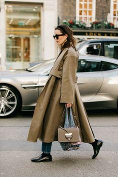 Londra Moda Haftası'nın 3 Sokak Stili Trendi / Fotoğraf: Dan Roberts / Net-a Porter