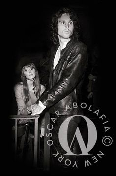 New rare photo of Jim Morrison with Pamela Courson at the Cheetah Club NYC 1967