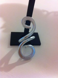 anello wire in alluminio di Gazzaladra1 su Etsy