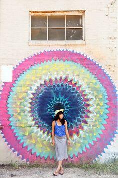 Hoxxoh Mural (+ Best Murals in Atlanta) // http://localadventurer.com