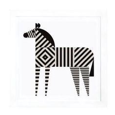 Zebra Stripe als Premium Poster von Greg Mably Zebra Kunst, Zebra Art, Art Mural, Zebra Drawing, Zebra Illustration, Poster Online, Geometric Art, Animal Design, Animal Illustrations