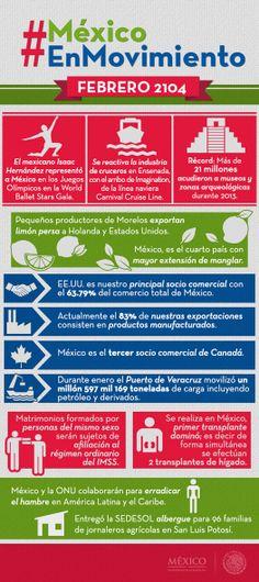 En México están pasando cosas buenas; somos un país en movimiento que camina hacia su máximo potencial.