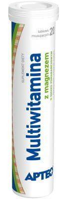 Multivitamin with magnesium orange flavoring Apteo x 20 effervescent tablets