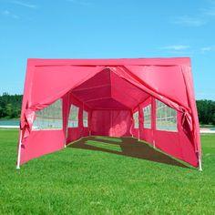 OUTT® Outdoor 10'x 30' Wedding Tent Party Canopy Carport Camp Gazebo Pavilion W/side Walls Catering Shelter Pink OUTT http://www.amazon.com/dp/B00J2O9UCE/ref=cm_sw_r_pi_dp_UZu1tb05ZA0F9R55