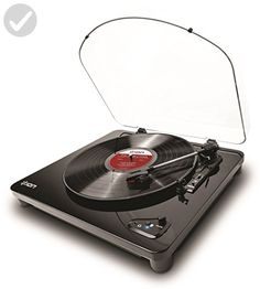 ION Audio Air LP | 3-Speed Belt-Drive Wireless-Streaming Turntable with AutoStop For Use with Bluetooth-Enabled Speakers - Fun stuff and gift ideas (*Amazon Partner-Link)