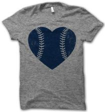 Navy Baseball Love – Thug Life Shirts
