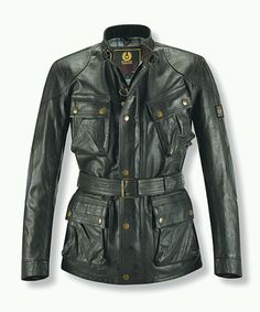 Belstaff Panther men's motorcycle jacket.
