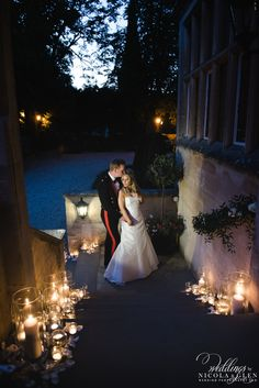Lower Slaughter Manor Cotswold Wedding Photo