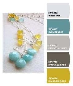 Like this colour combo for a living room. Paint colors from Chip It! by Sherwin-Williams by l!sa