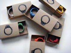 electric wire…bracelets...