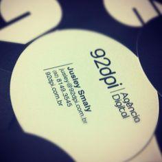 92dpi business card.