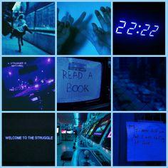Purple, neon, lights, grunge, halsey, room 93, bright, dark ...