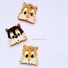 Chipmunk toast by (@kitchen_maotouying)