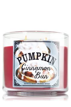 Treat yourself to a fresh-from-the-oven pumpkin bun with cinnamon swirls and creamy vanilla icing