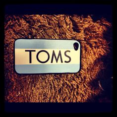 DIY Toms iPhone case
