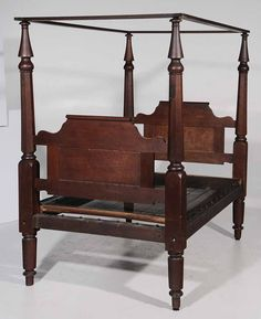 Mahogany Full Tester Bed By Charles Lee M S Rau