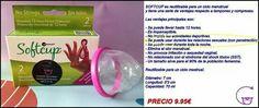 Softcup.. copa menstrual para usar en las relaciones secuales