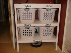 Laundry Station | Do It Yourself Home Projects from Ana White