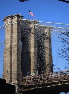 Brooklyn Bridge. New York. Photo by Andy New.