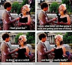 Helena Bonham Carter on Bellatrix: