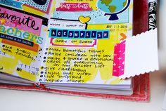 mixed media hybrid art faith journaling and listing by Elaine Davis | Lists by Faith featuring Cori Spieker