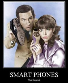 Maxwell Smart and Agent 99 in Get Smart