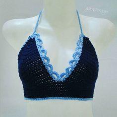Leonis Bralette Free Pattern #bralette #knit #crochet