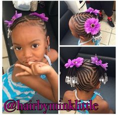 Outstanding 1000 Images About Kiddie Styles On Pinterest Cornrow Designs Hairstyle Inspiration Daily Dogsangcom