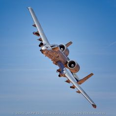 A-10 Thundernolt...I Hope I can get accepted into the Air Force Academy to fly this sucker