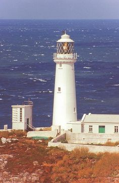 Holyhead, Anglesey, North Wales by jacqueline.poggi, via Flickr - South Stack Lighthouse