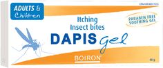 Dapis Gel - Relieves Pain, Itching and Hive From Insect Bites Homeopathic Medicine, Insect Bites, Spa, Wellness, Personal Care, Health, Free, Self Care, Health Care