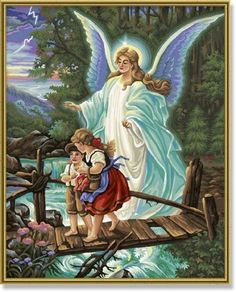 Schipper Guardian Angel PaintbyNumber Kit * You can find more details by visiting the image link.