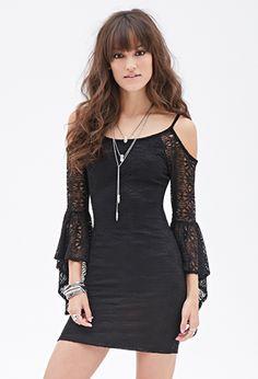 Off-The-Shoulder Crochet Dress | FOREVER21 - 2000117214