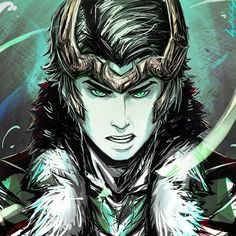 Loki - nice fan art based on the Agent of Asgard comic series.