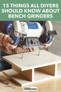 A bench grinder comes in handy for everything from sharpening tools to rounding over thread ends on a cutoff bolt. Get the most of of your grinder.
