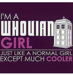 Doctor Who Fangirl a whovian. Doctor Who, Doctor Stuff, 13th Doctor, Gentlemans Club, Dr Who, Fangirl, Normal Girl, Bubbline, Don't Blink