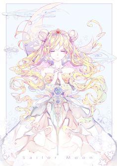 Sailor Moon/Usagi Tsukino: Princess serenity of the moon kingdom Cristal Sailor Moon, Arte Sailor Moon, Sailor Moom, Sailor Moon Fan Art, Sailor Moon Usagi, Sailor Saturn, Sailor Moon Crystal, Neo Queen Serenity, Princess Serenity