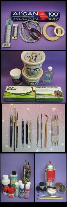 Sculpting tools for Super Sculpey tutorialby sculptor101The following description is really long, you may skip if you are happy with what you have, you are an expert, you don't have time or n...                                                                                                                                                                                 More