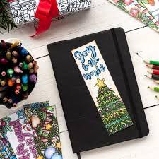 Imagini pentru christmas bookmarks