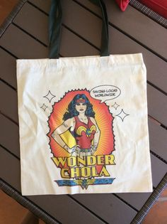 Image of Wonderchola vintage tote