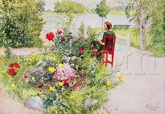 Brita e Eu , auto-retrato com uma das filhas (1895)   Carl Larsson nasceu em Gamla Stan ,  uma antiga região de Estocolmo, em 28 de maio ...