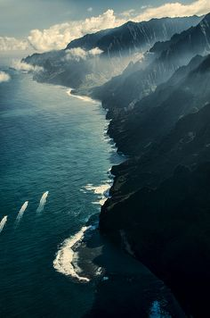Kauai-30 // Hawaii // view from the amazing helicopter ride!