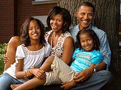 The First Family in 2008. This was on my Christmas card from the Obama's. Of course, thousands of others received this same card . . . but still, it was cool.
