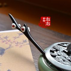 Wooden Chinese Hairpin