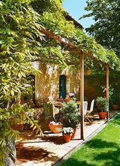 al estilo de Toscana, Italia