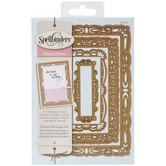 Spellbinders Nestabilities Decorative Elements Dies-Romantic Rectangles 2