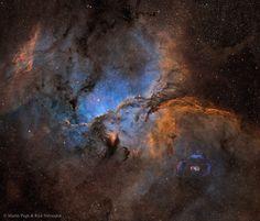 De mooiste plaatjes kun je schieten op zo'n vierduizend lichtjaar van onze planeet. Zoals deze prachtige sterrennevel.
