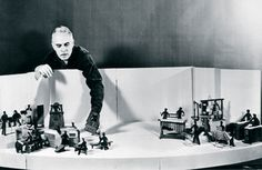 Harry Partch was an American composer and creator of weird and wacky instruments.
