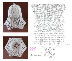 225 Crochet Ball, Thread Crochet, Filet Crochet, Crochet Doilies, Crochet Flowers, Crochet Stitches, Knit Crochet, Crochet Christmas Decorations, Christmas Crochet Patterns